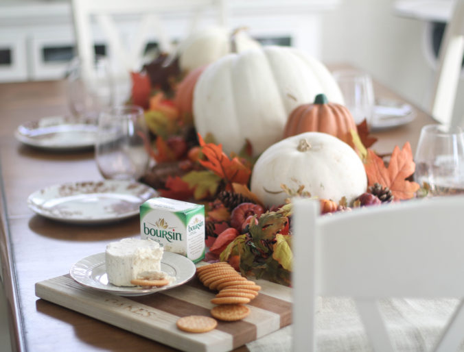 Home: Last Minute EASY Thanksgiving Tablescape