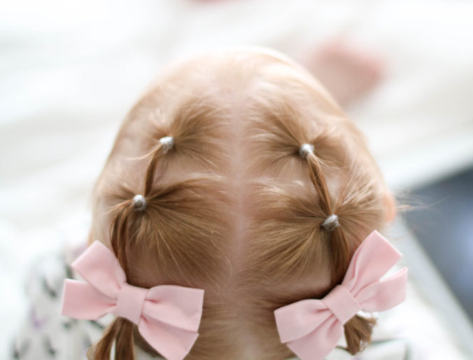 Triple Ponytail Hair Tutorial For Toddlers