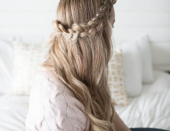 Hair // Half Crown Braid Tutorial