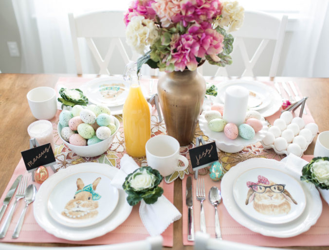 Home // An Easter Tablescape