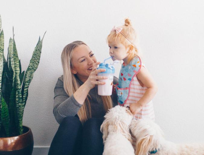 kidz shake / best kid's breakfast shakes / best toddler shake / positively oakes
