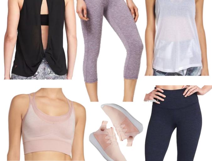 the best affordable work out clothes // activewear that's cute and cheap!