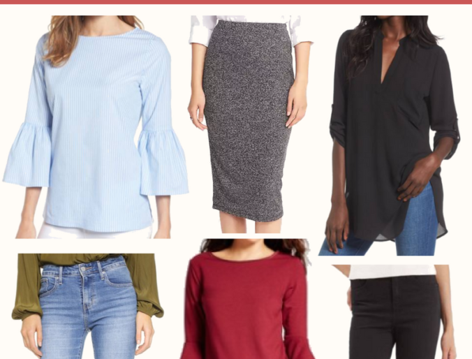 the best fall fashion for women // cute women's pants tops for fall