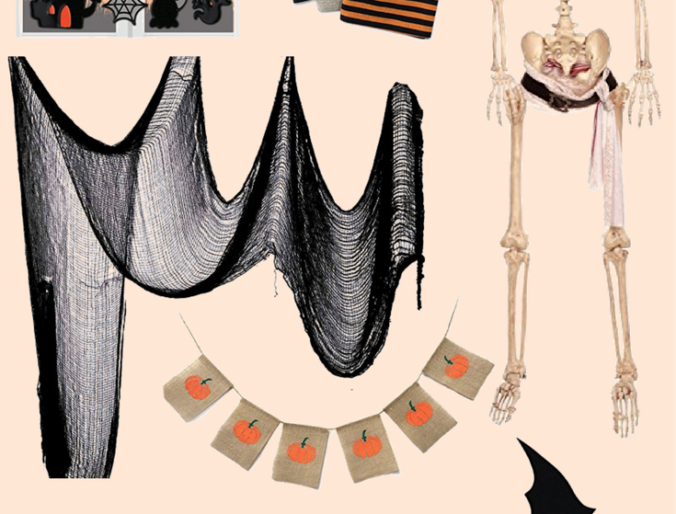 best amazon prime halloween decor on a budget / online halloween decor