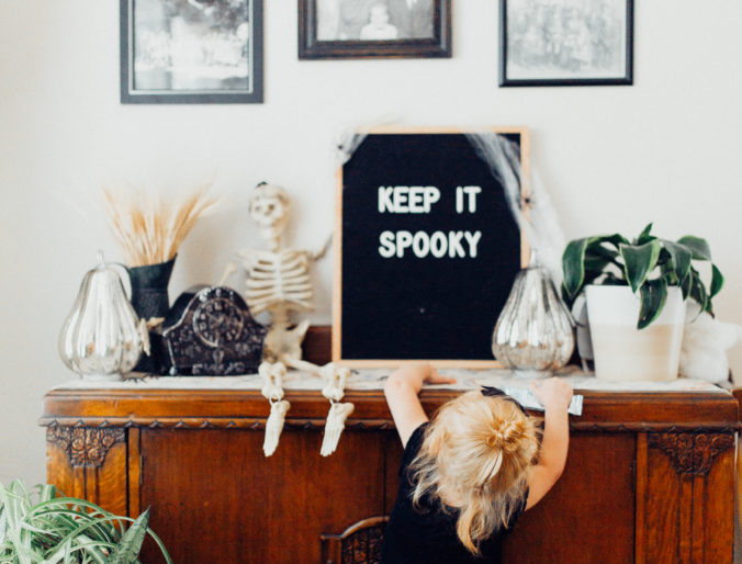 Gothic Revival Halloween Decor / From Tablescape to Front Porch