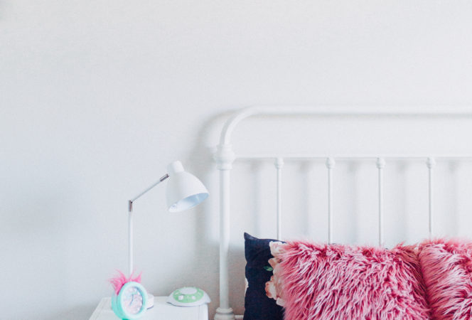 toddler bedroom ideas / cute girl's room ideas / simple girl's room that's affordable