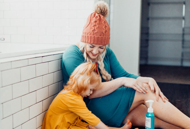Curél® Hydratherapy Moisture / Positively Oakes / Mommy and me / Cute mommy and me photos / beauty mom and me picture