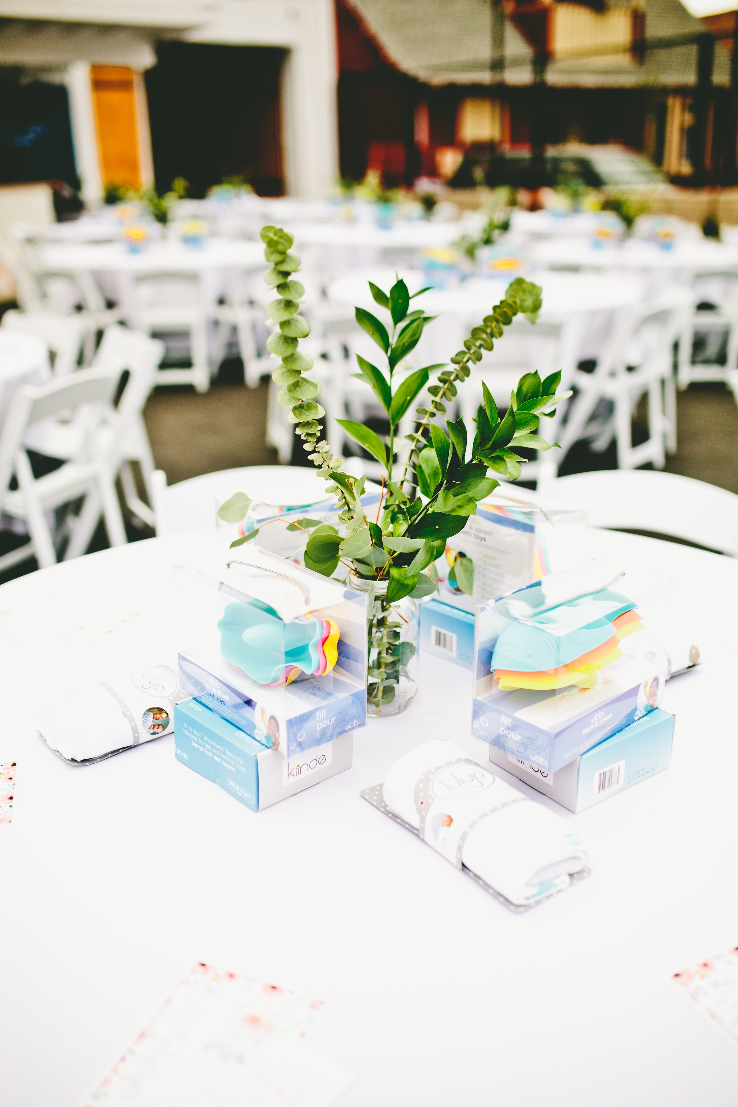 a positively baby shower / office party / los angeles / ergo baby / fawn design / olive garden / baby shower event for moms