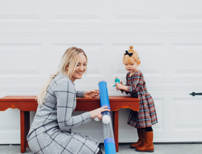 tot tube / quiet play for toddlers and kids that promote creativity