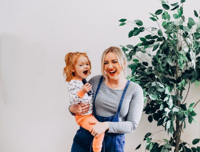 mommy and daughter cute picture motherhood positively oakes jess oakes