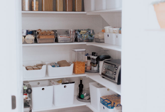 the ultimate pantry organization that is easy, afforable, best tips and tricks to a gorgeous organized and functional pantry on a budget bed bath and beyond