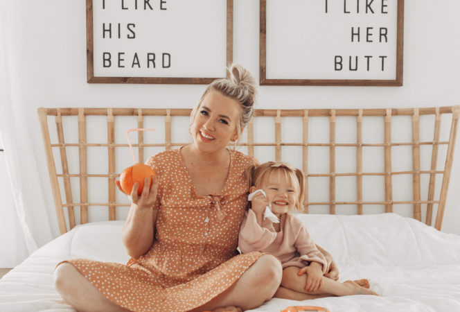 best skincare exfoliating tips and tricks / mommy and me girl's day pictures / softer skin