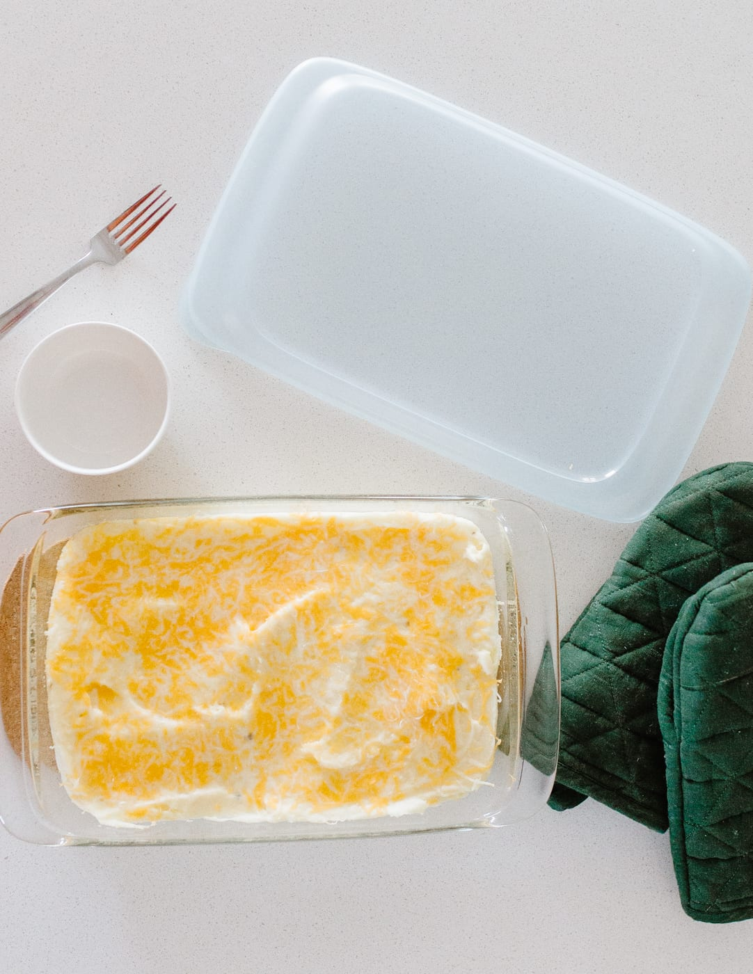 easy cheesy mashed potatoes with sour cream recipe for christmas or holiday dinners and events
