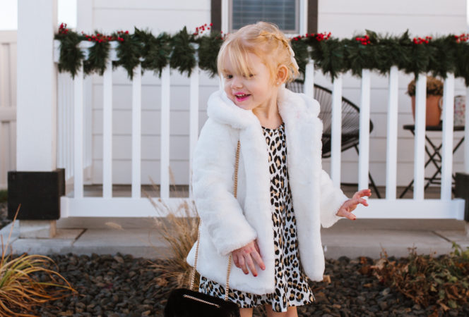 cute leopard print toddler outfits for christmas present ideas