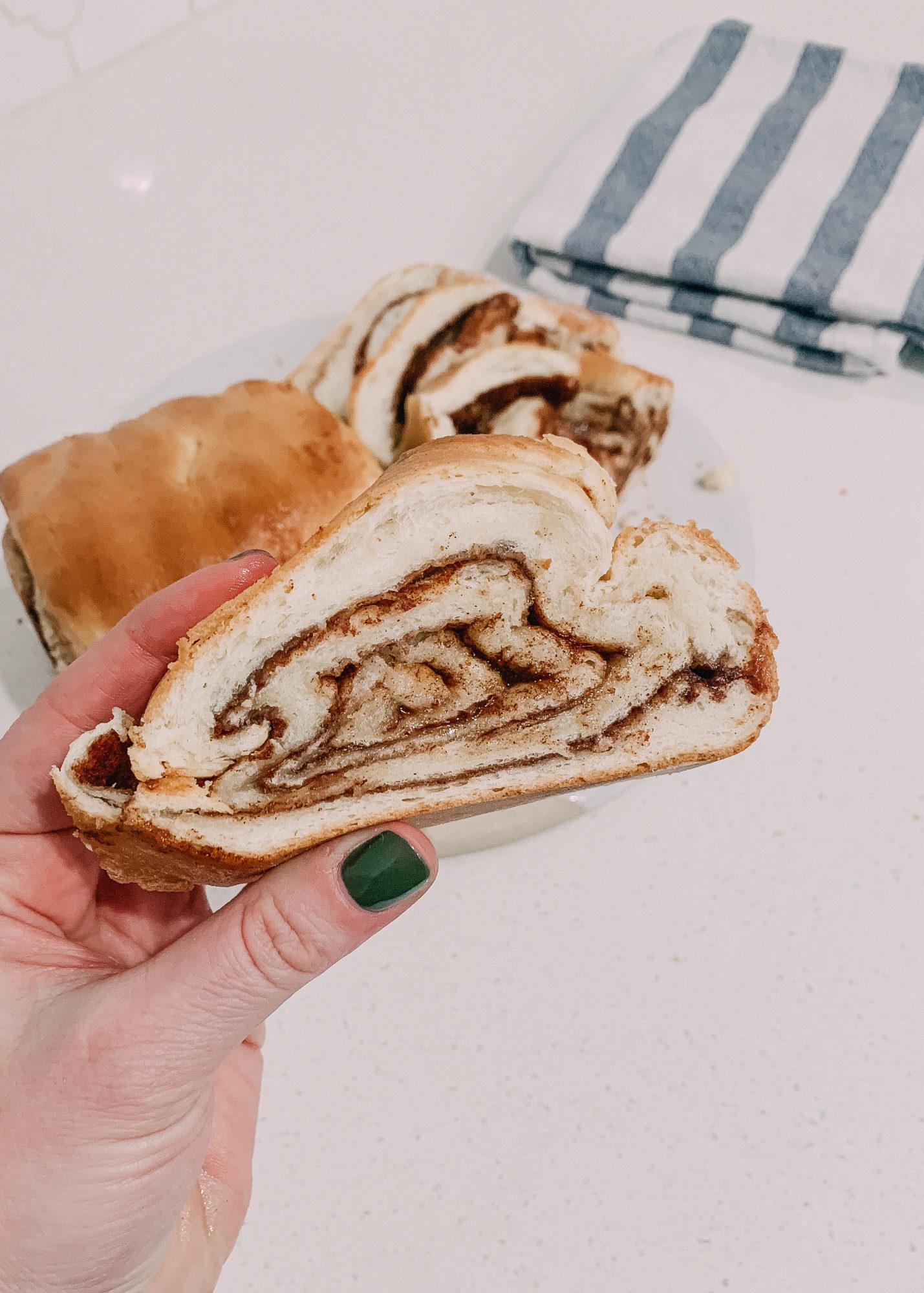 easy cinnamon swirl bread recipe / fluffy, soft cinnamon bread recipe homemade