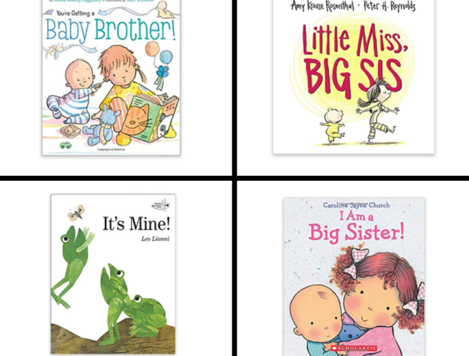best sibling books for big sisters and brothers / helping prepare for a baby