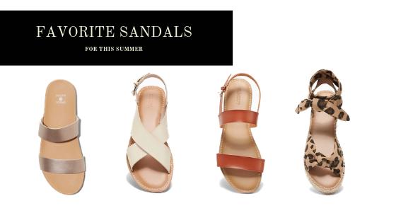 favorite summer sandals for a modern mom summer 2019