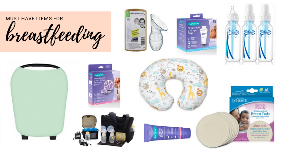 Must have items for breastfeeding, national breastfeeding month / items for breastfeeding you can grab at walmart