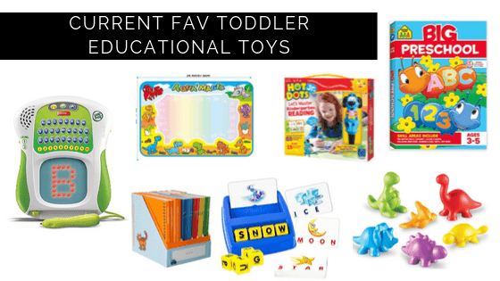 top toddler / kindergarten activities for education