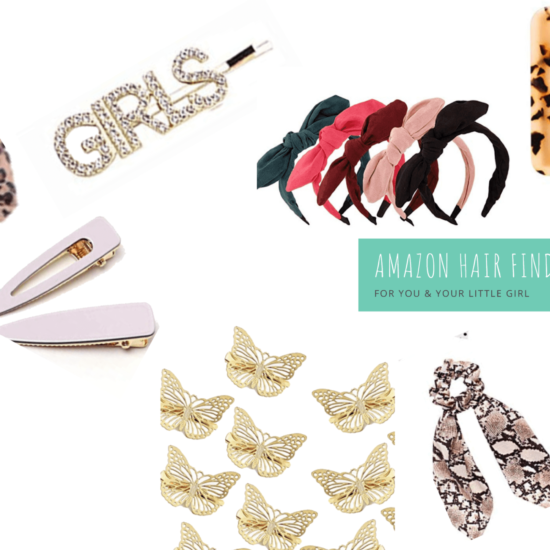 Current Favorite Amazon Hair Accessories for Mamas + Littles