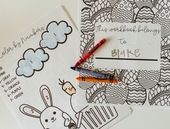 free printable activity workbook for kids ages 3-6 years old adding, letter practice, etc