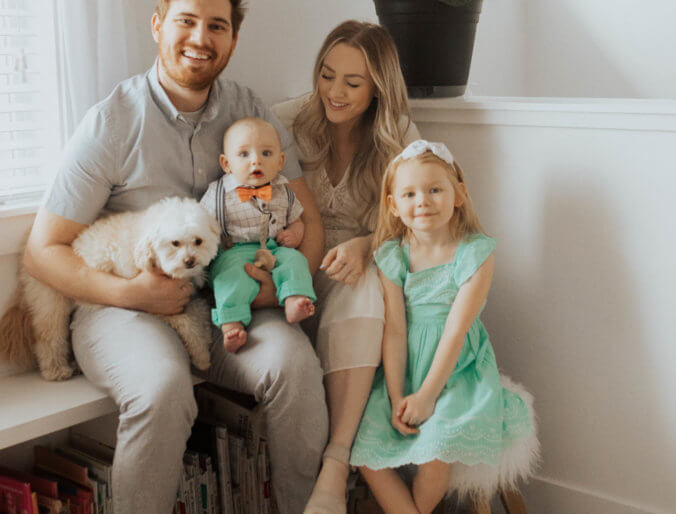 family easter outfits / budget friendly easter dresses and shirts for mom dad baby and kids