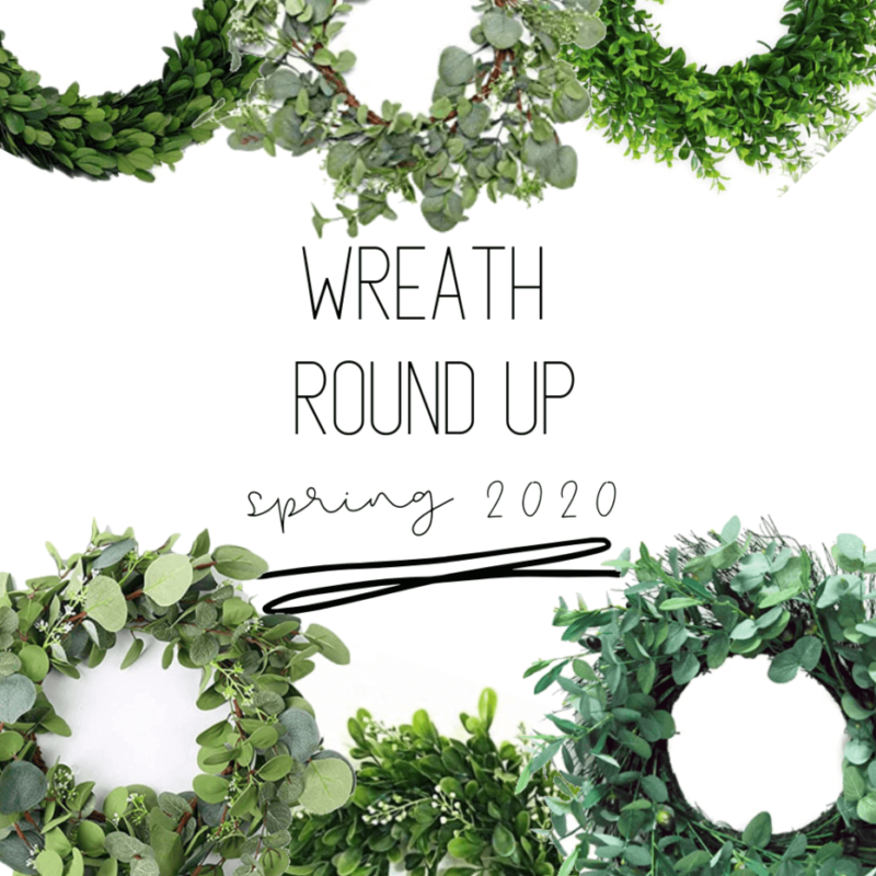 spring wreath ideas that are affordable, simple and modern