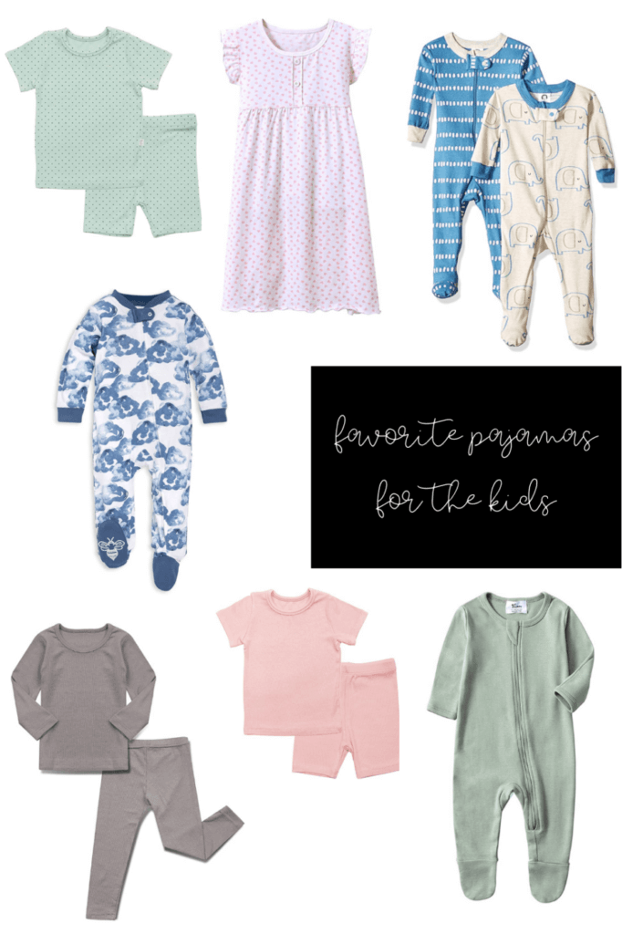 cheap cute amazon pajamas for kids and babys