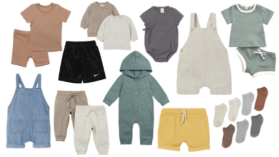 favorite baby boy basic pieces