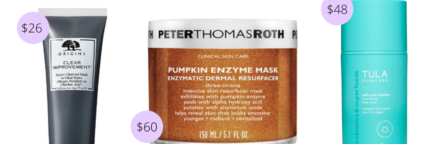 Current Favorite Face Masks (as in skincare)