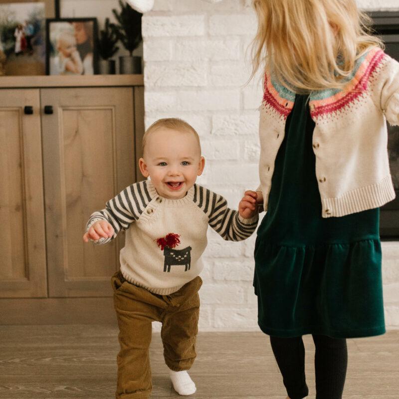 holiday kids outfits from tea collection cute sister and brother outfits for christmas and thanksgiving // coordinating 2020 sibling outfits