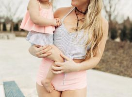Mommy & Me Matching Swimsuits