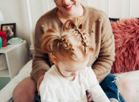 Toddler Dutch Braid Pigtail Tutorial